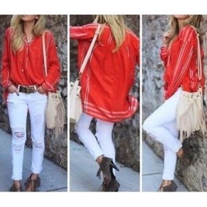 FREE PEOPLE | oversized tunic fearless love gold